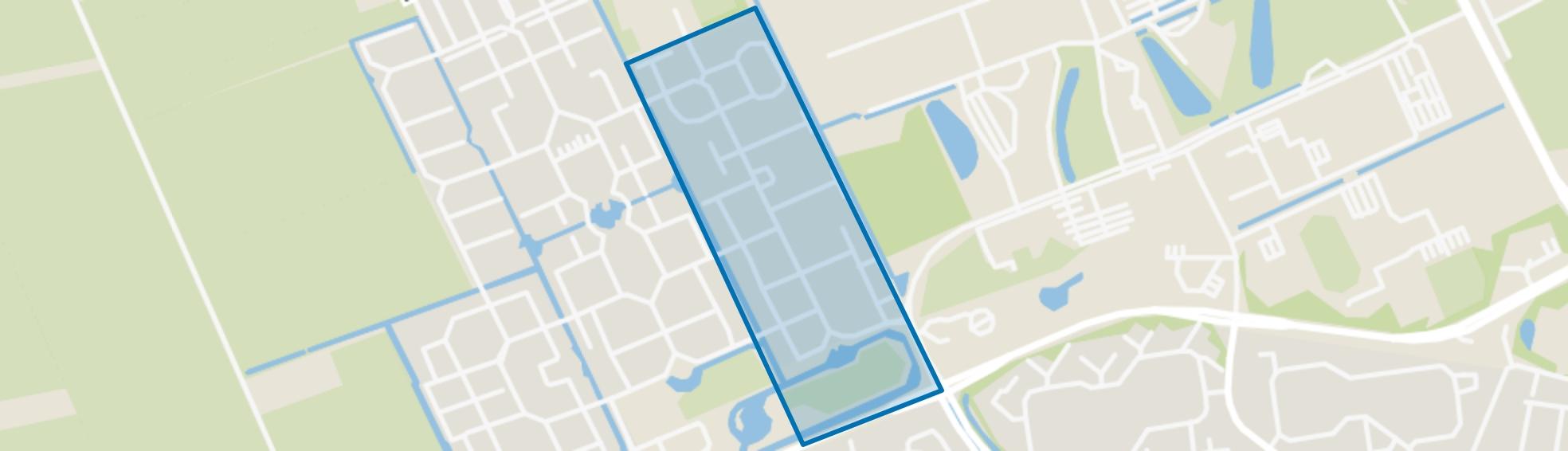 Mondriaanbuurt, Wageningen map