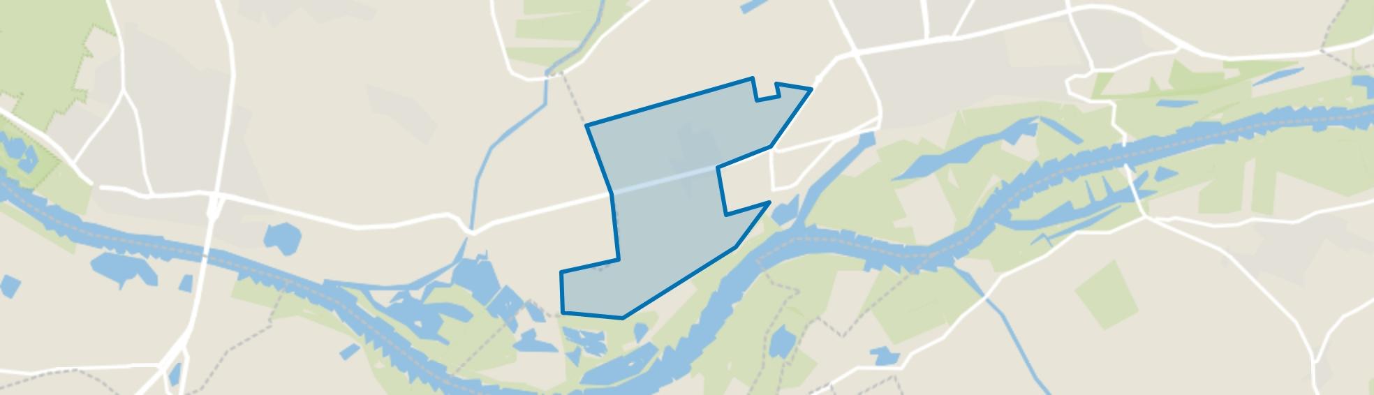 Oude Nude, Wageningen map