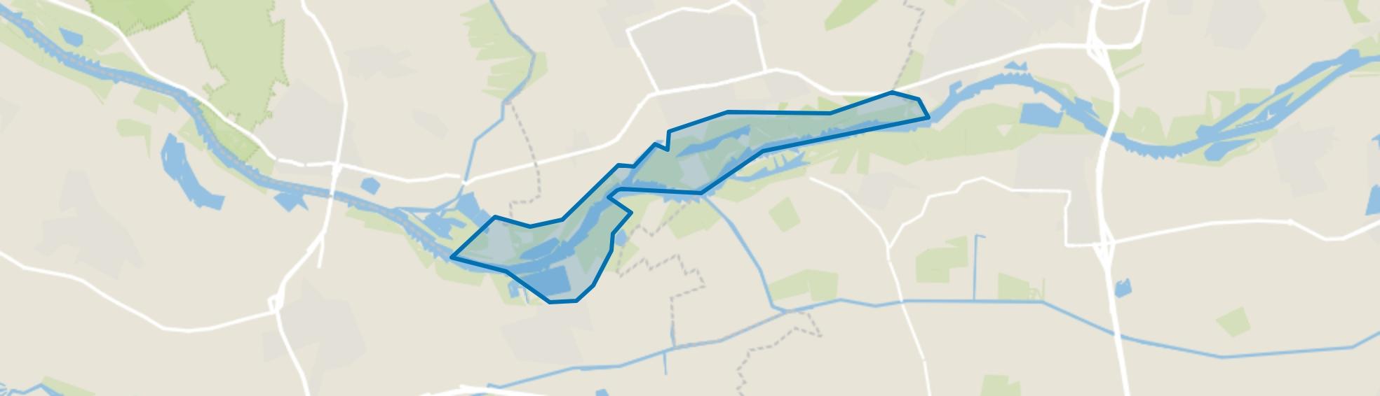 Uiterwaarden, Wageningen map