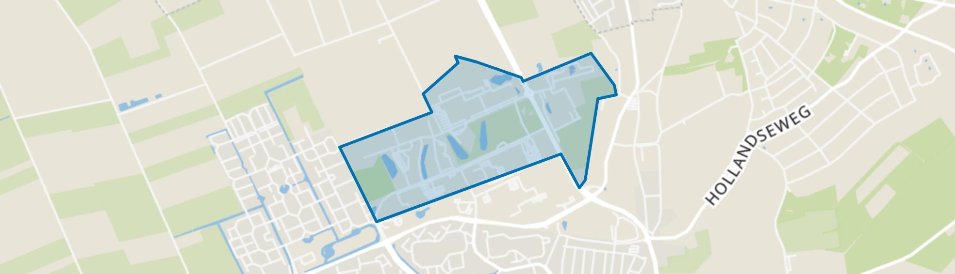 Wageningen Campus en Droevendaal, Wageningen map