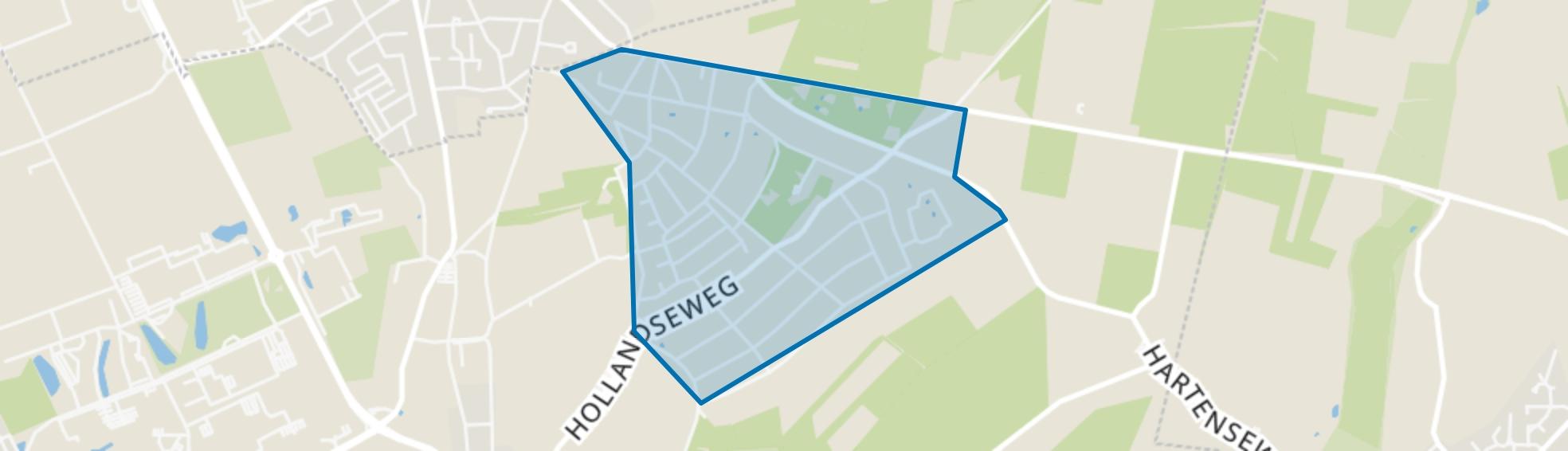 Wageningen-Hoog, Wageningen map