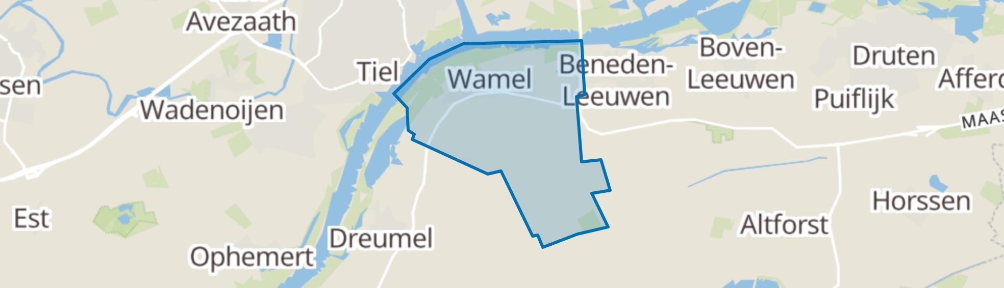 Wamel map