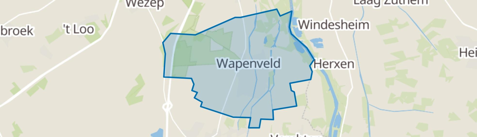 Wapenveld map