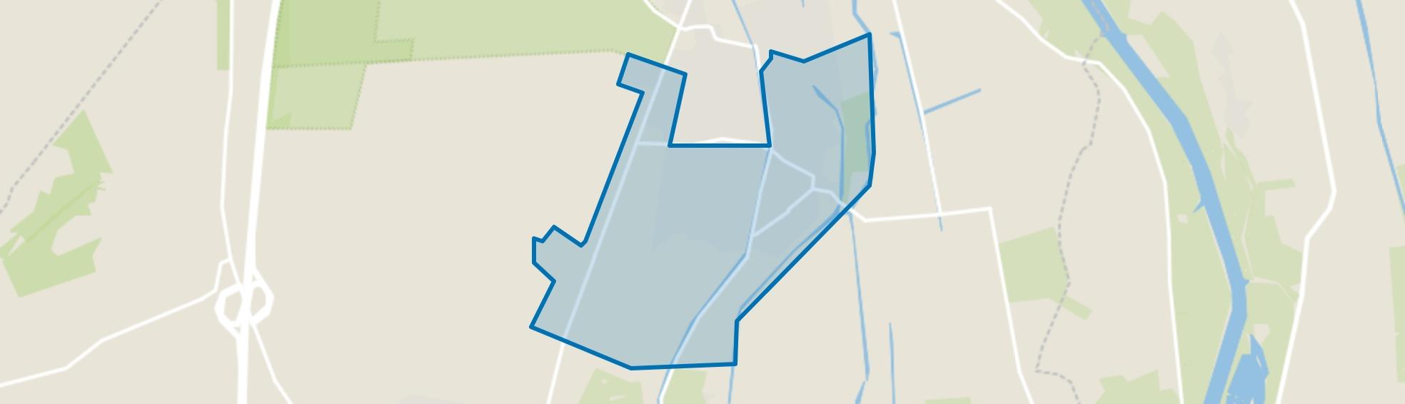 Verspreide huizen Wapenveld-Zuid, Wapenveld map