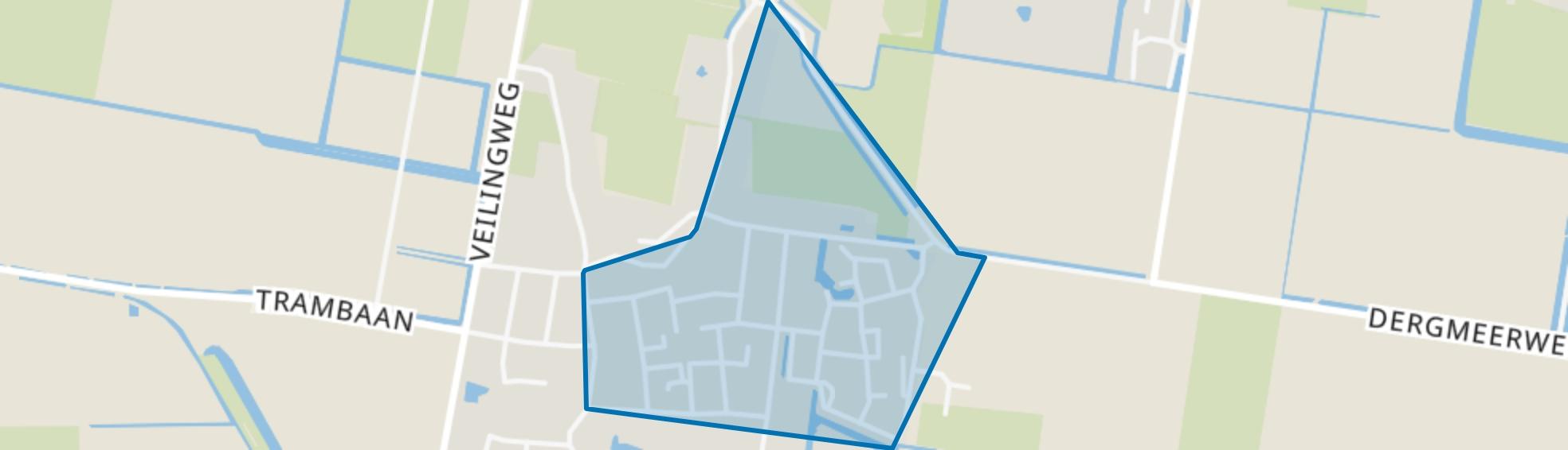 Debbemeer-Noord, Warmenhuizen map