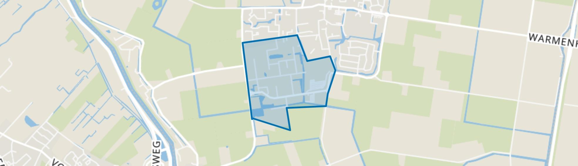 Oudevaart-Zuid, Warmenhuizen map