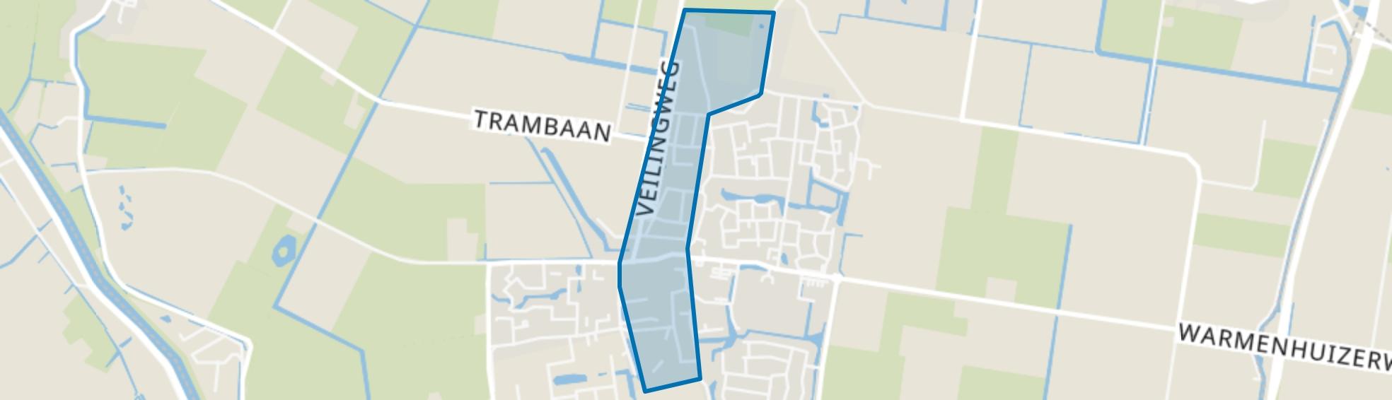 Warmenhuizen-Centrum, Warmenhuizen map
