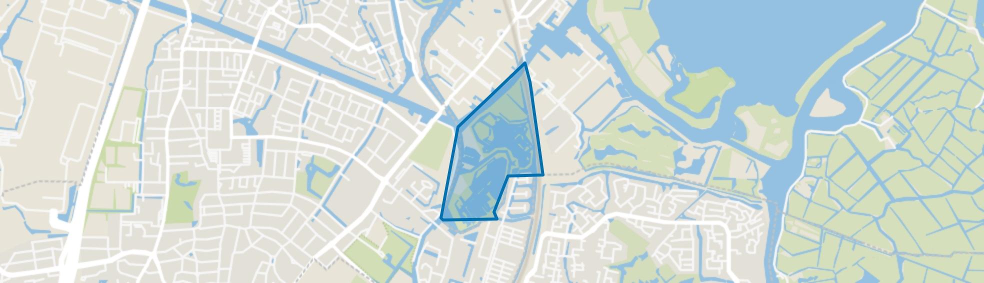 Hennepoel, Warmond map