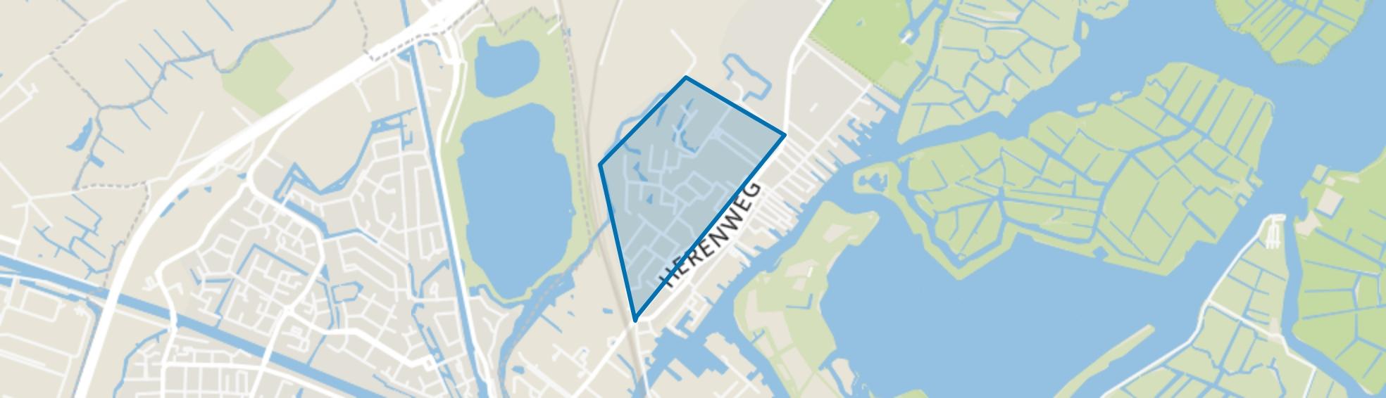 Kloosterland-Endepoel, Warmond map