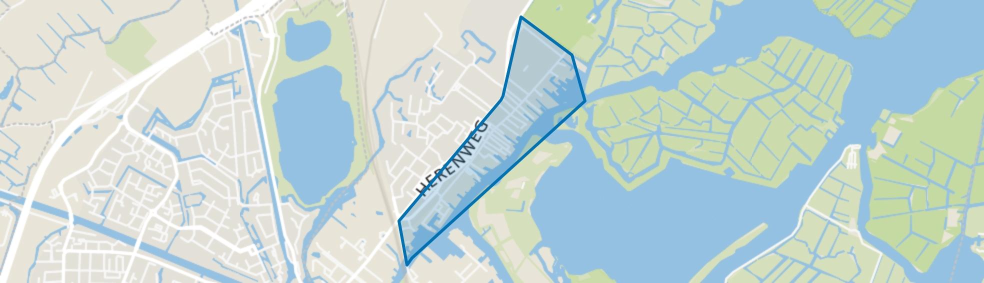 Middelbuurt, Warmond map