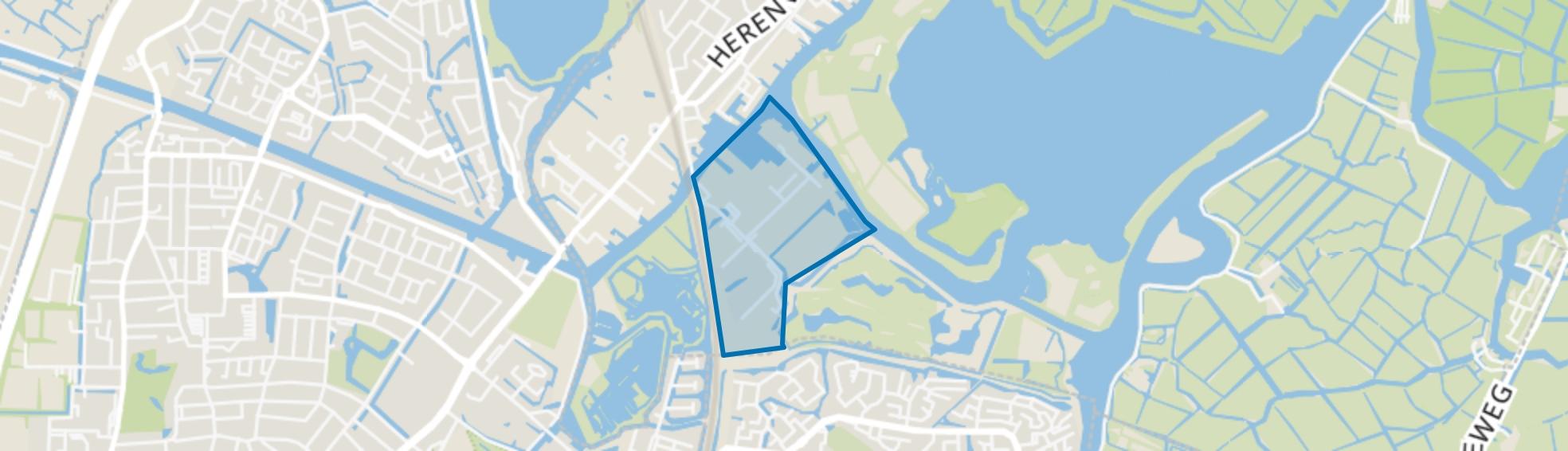 Veerpolder, Warmond map