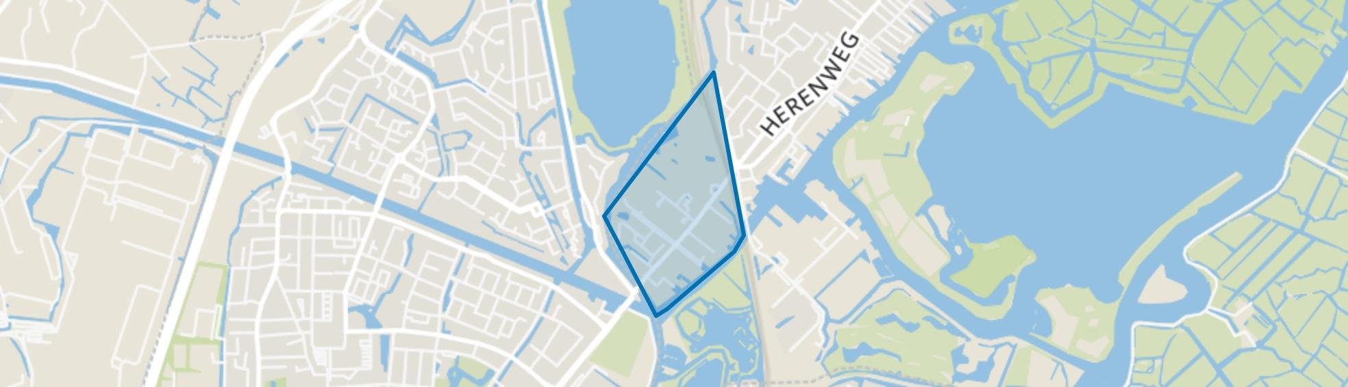 Westeinde-Lommerlust, Warmond map