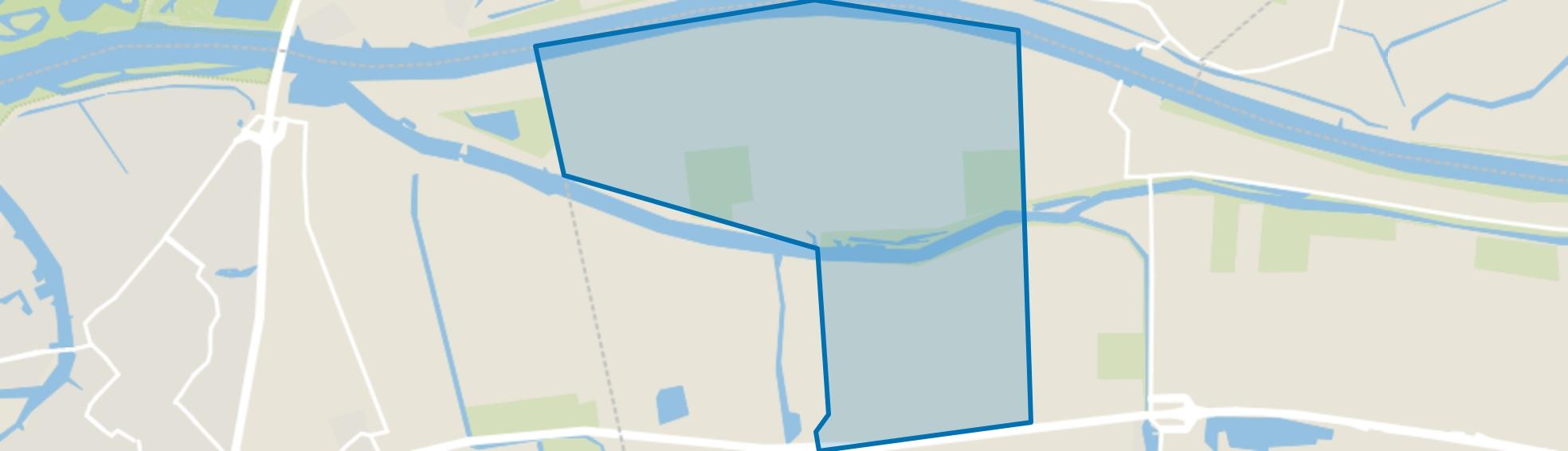 Buitengebied Waspik, Waspik map