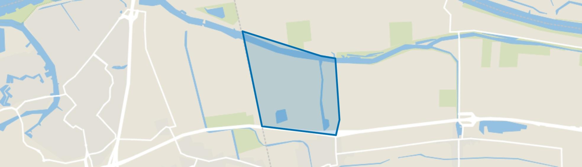 Industrieterrein Waspik, Waspik map
