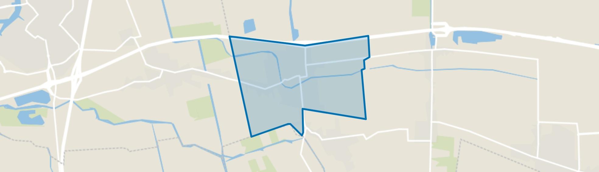 Waspik Beneden, Waspik map