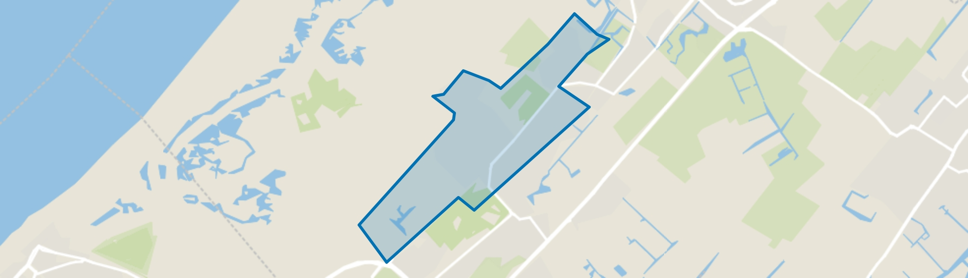De Kieviet, Wassenaar map