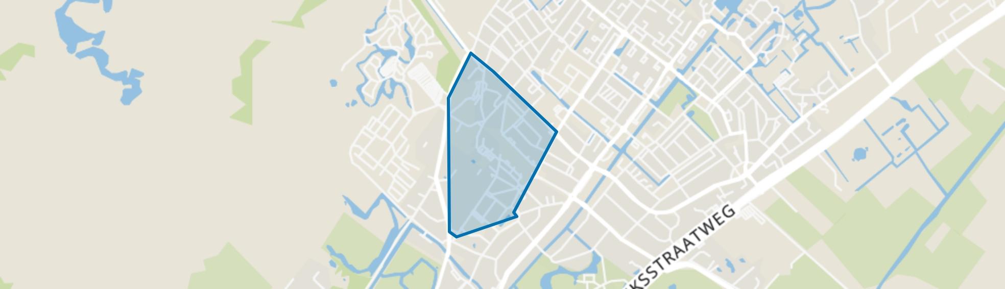 Dorp Wassenaar, Wassenaar map