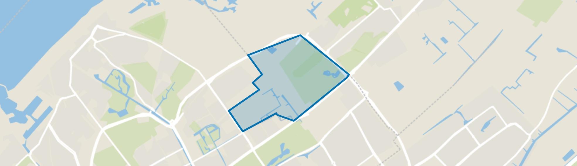 Duindigt met Groenendaal, Wassenaar map