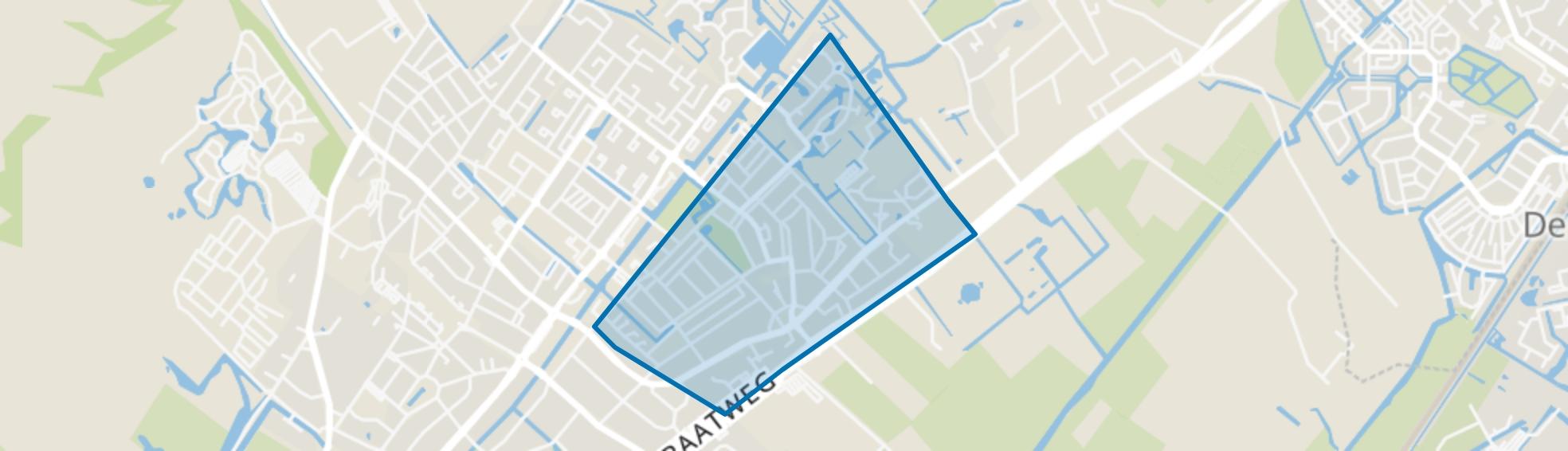 Groot Deijleroord en Ter Weer, Wassenaar map