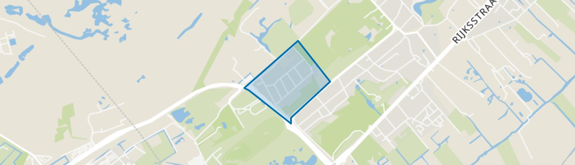 Klingenbosch, Wassenaar map