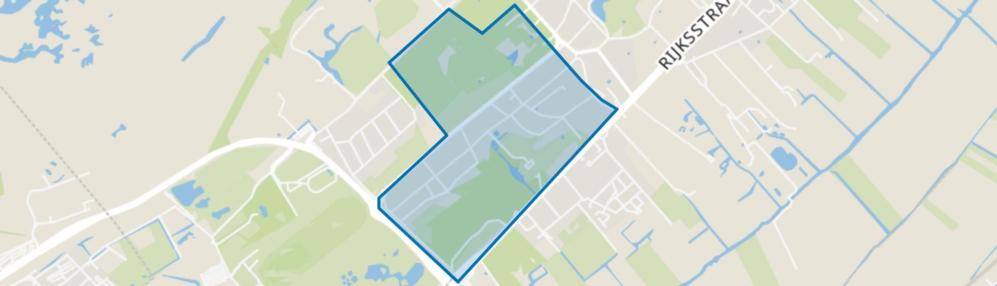 Nieuw-Wassenaar, Wassenaar map