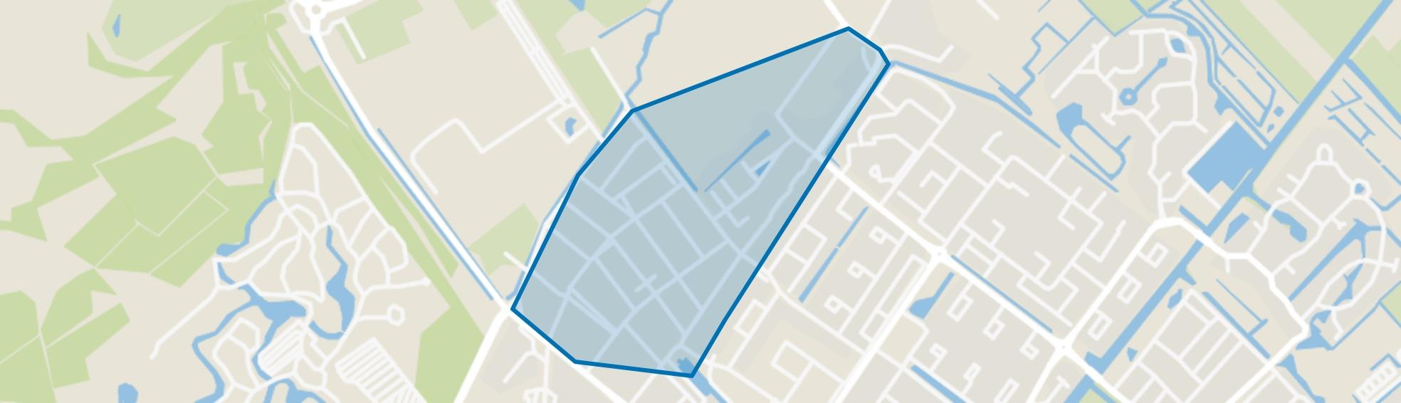 Oostdorp, Wassenaar map