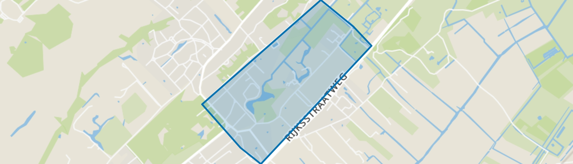 Oud-Wassenaar, Wassenaar map