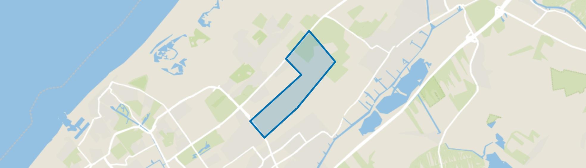 Verspreide huizen Eikenhorst, Wassenaar map