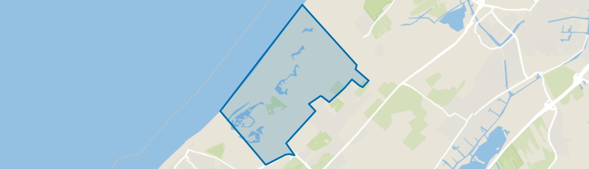 Verspreide huizen Meijendel, Wassenaar map