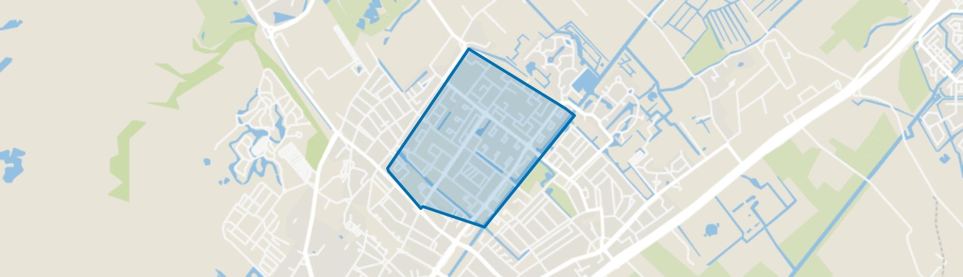 Zijlwatering en haven, Wassenaar map
