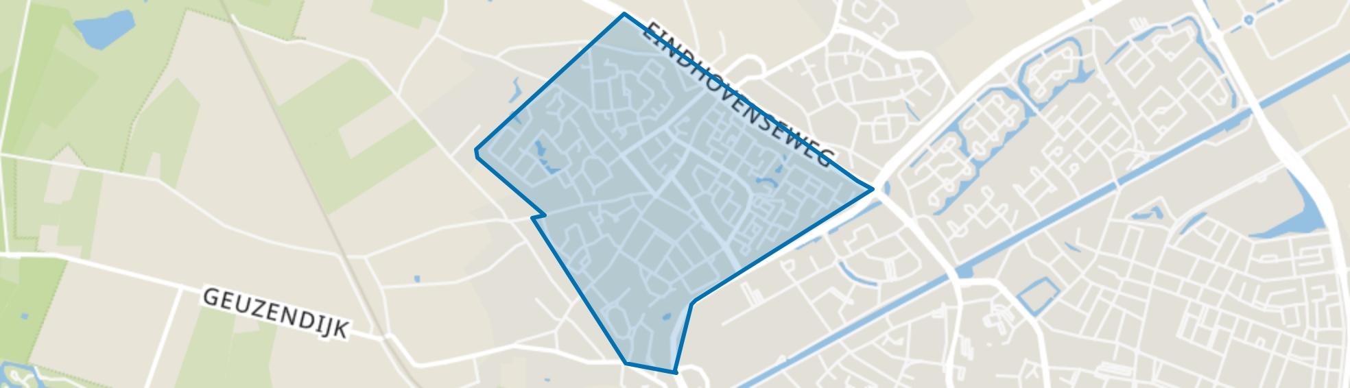 Boshoven-Vrakker, Weert map