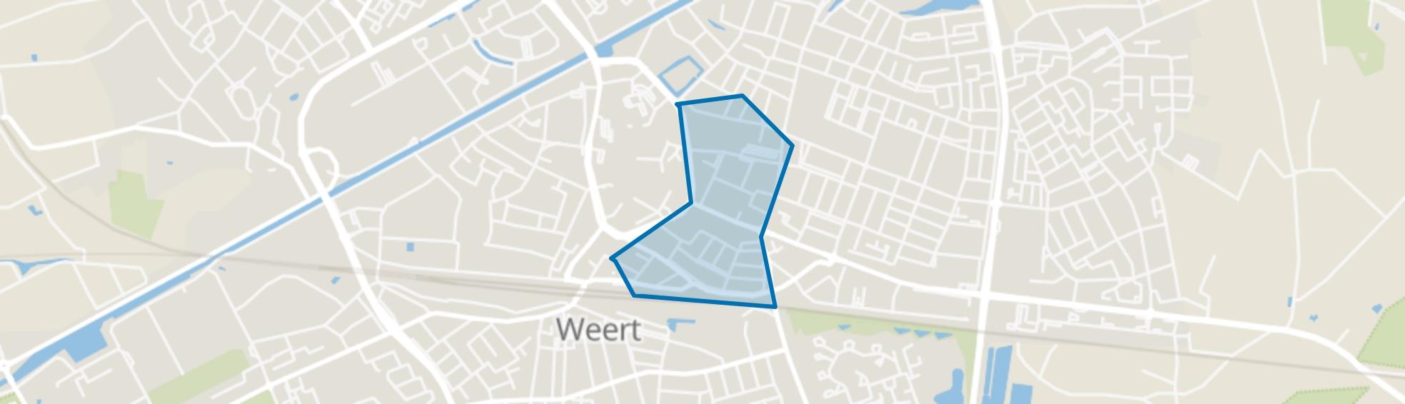 Maaspoort, Weert map