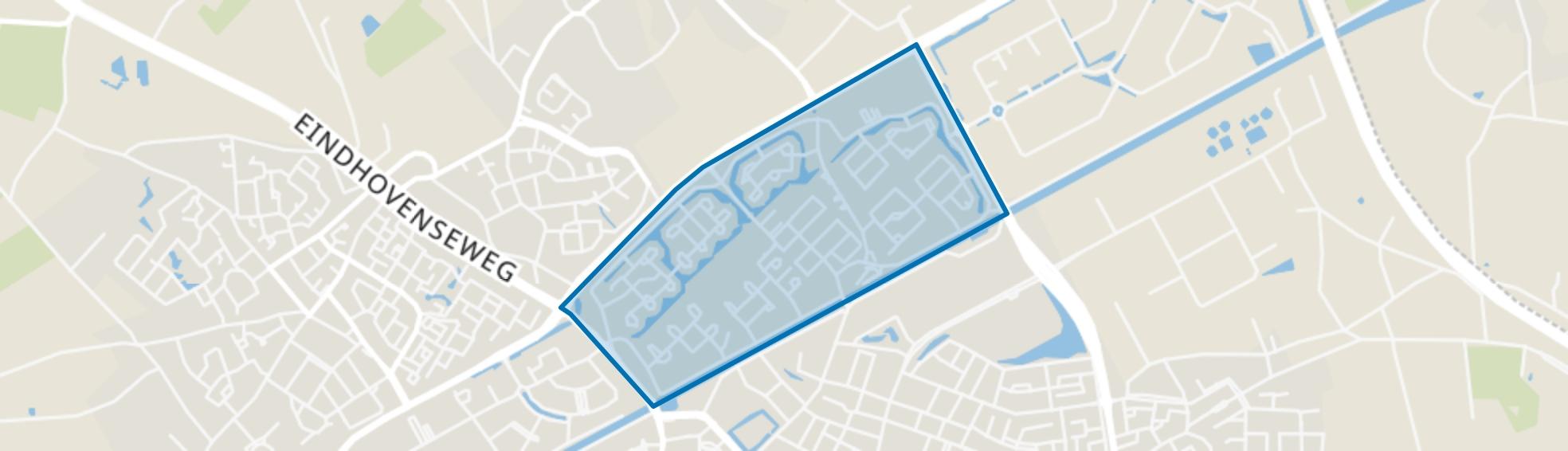 Molenakker, Weert map