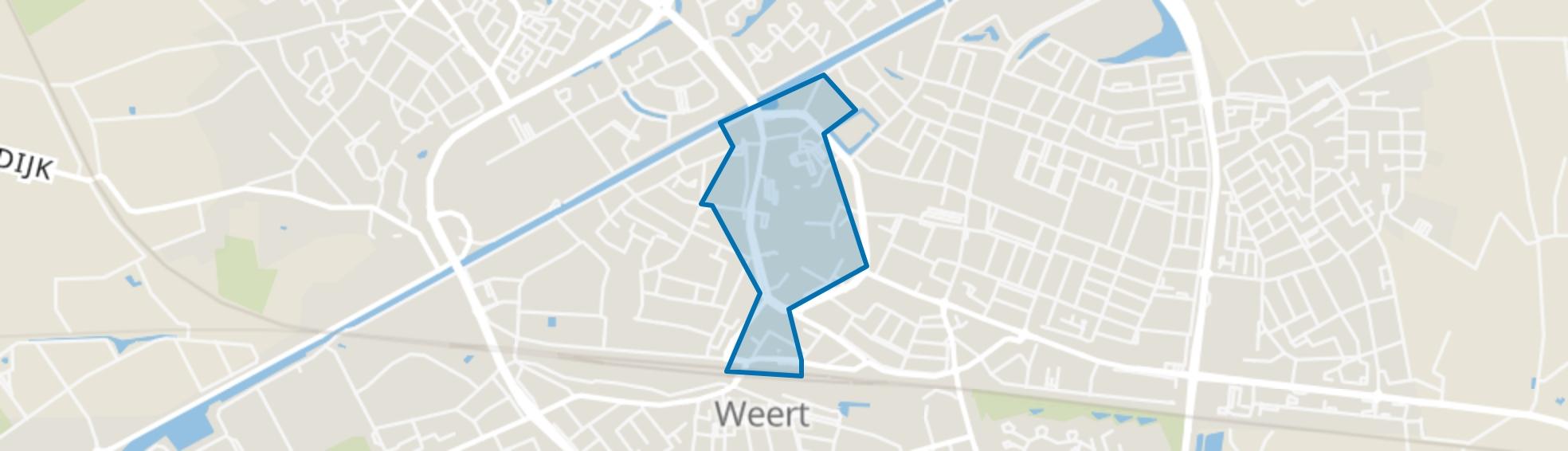 Weert-Centrum, Weert map