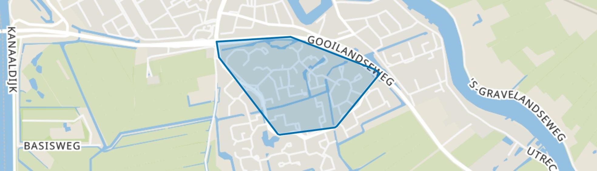 Aetsveld Noord, Weesp map