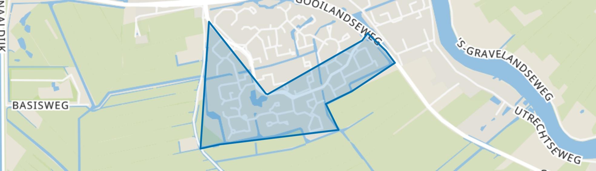 Aetsveld Zuid, Weesp map