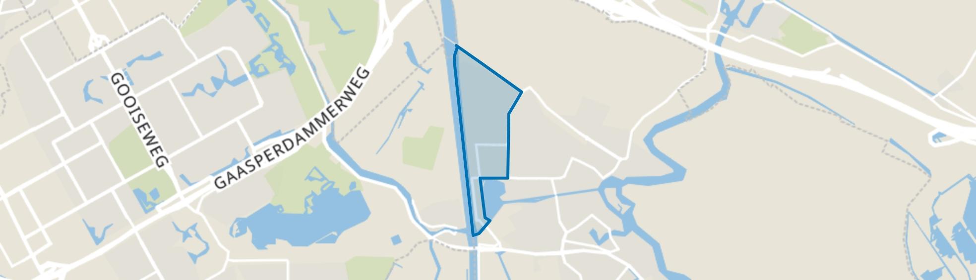 Bedrijventerrein Noord, Weesp map