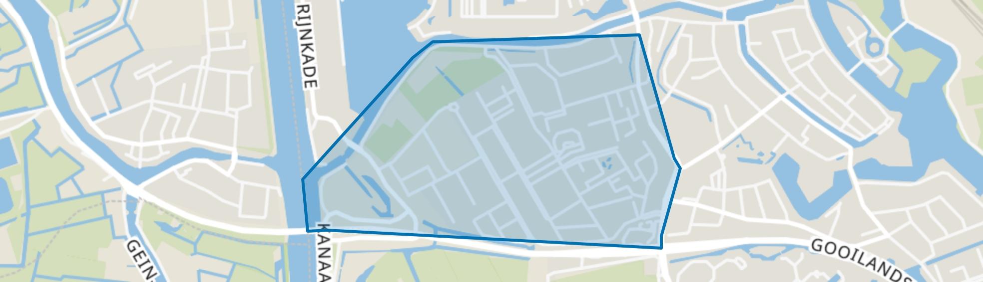 Bedrijventerrein Van Houten, Weesp map
