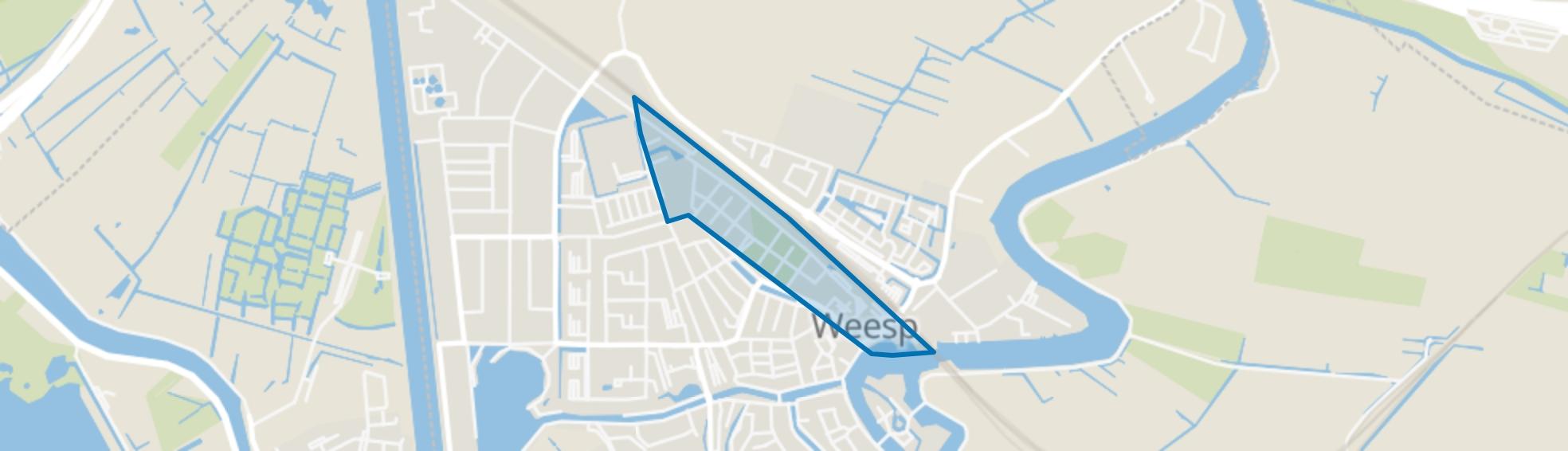 Dichtersbuurt, Weesp map