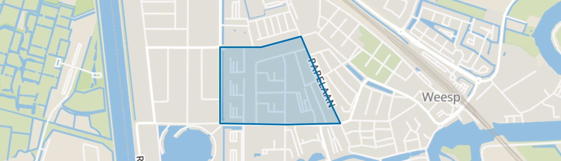 Hogewey Midden, Weesp map