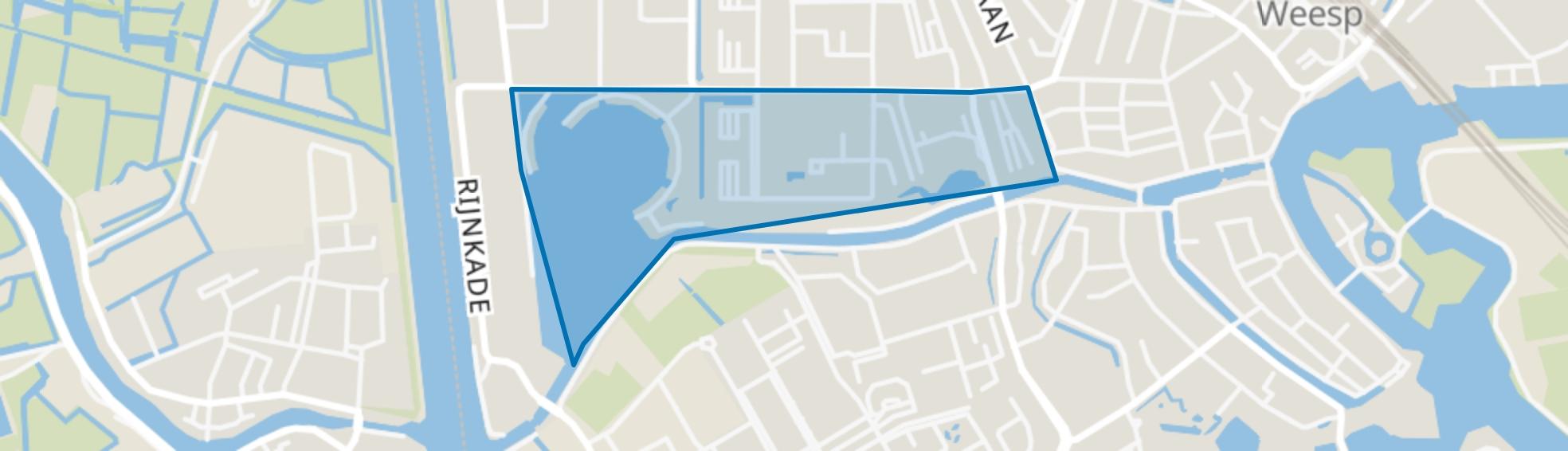 Hogewey Zuid, Weesp map