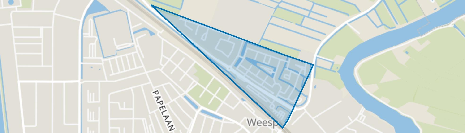 Leeuwenveld, Weesp map