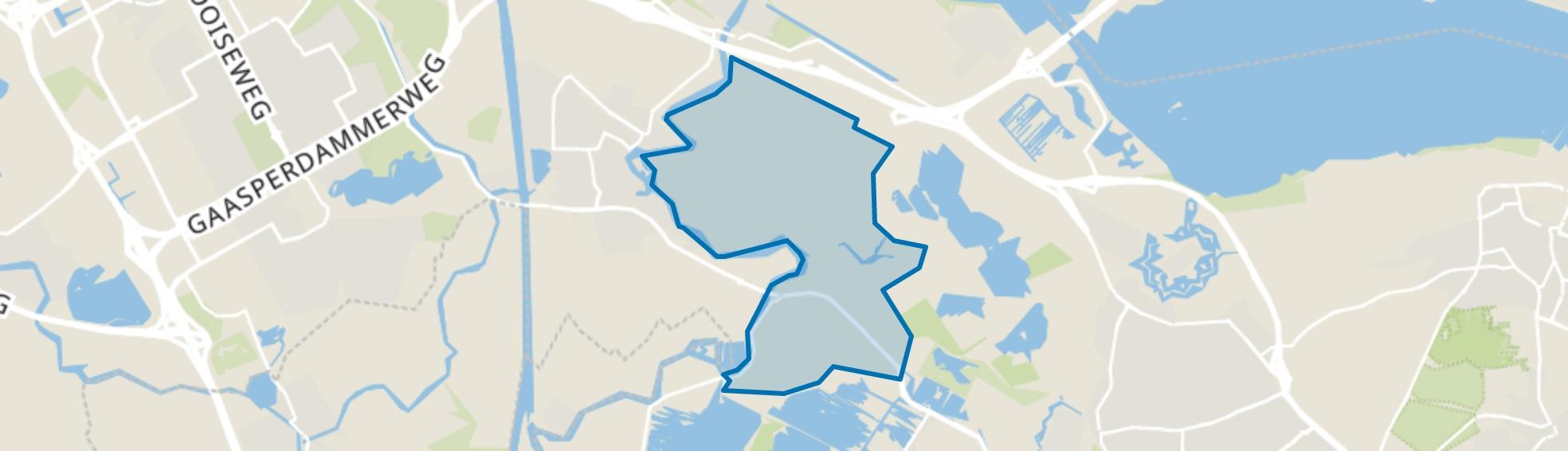 Oostelijke Vechtoever, Weesp map