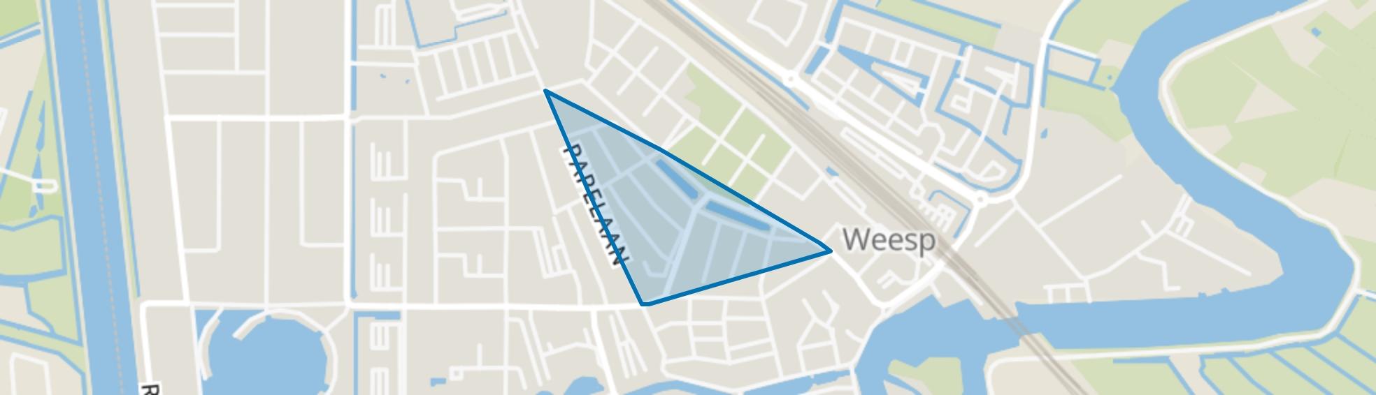Schildersbuurt, Weesp map