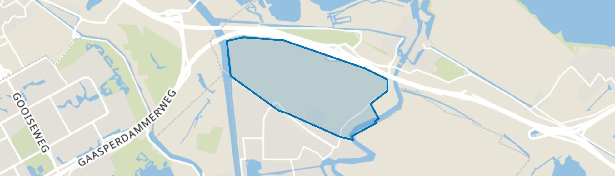 Weespersluis, Weesp map