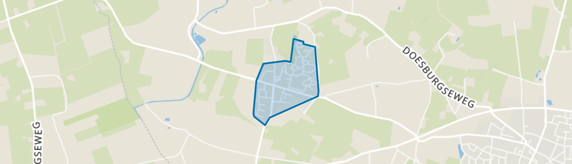 Nieuw-Wehl-Centrum, Wehl map