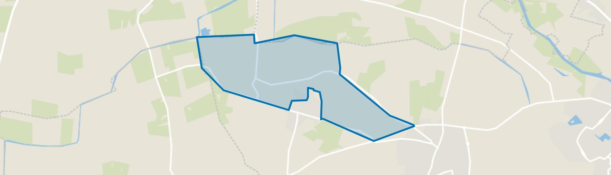 Nieuw-Wehl-Noordoost, Wehl map