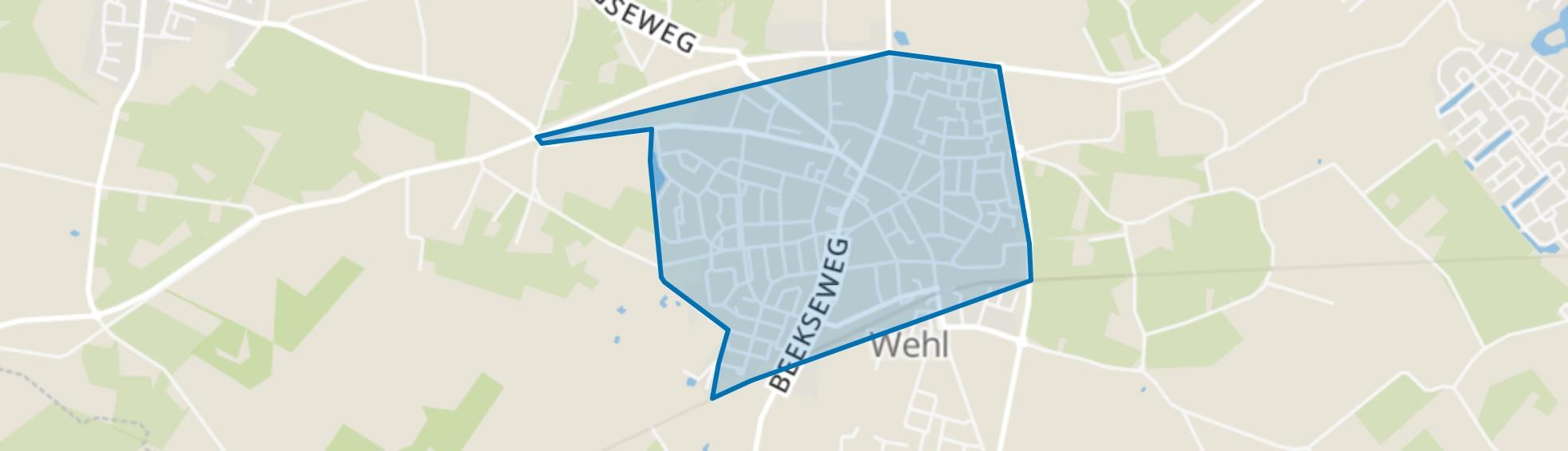 Wehl-Centrum, Wehl map
