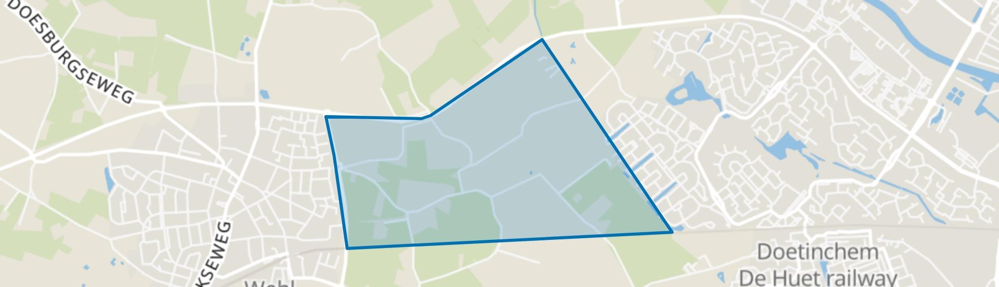 Wehl-Oost, Wehl map