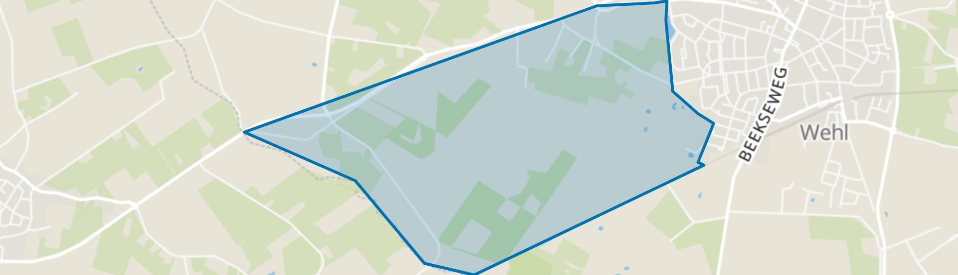 Wehl-West, Wehl map